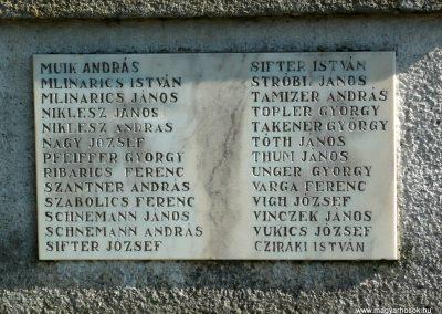 Szepetnek I.vh emlékmű 2010.07.14. küldő-Sümec (5)