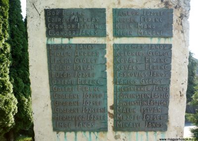 Szepetnek II.vh emlékmű 2010.07.14. küldő-Sümec (2)