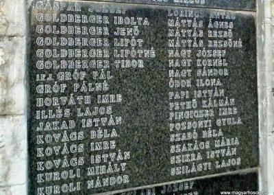 Szerecseny, II. világháborús emlékmű