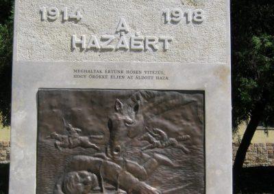 Szerencs felújított világháborús emlékmű 2017.07.18. küldő-Emese (2)