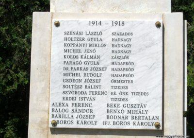Szerencs felújított világháborús emlékmű 2017.07.18. küldő-Emese (4)