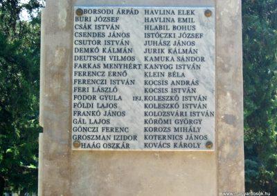 Szerencs felújított világháborús emlékmű 2017.07.18. küldő-Emese (6)