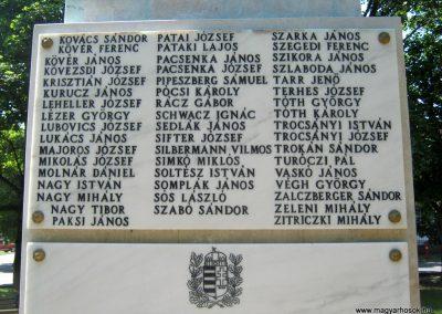Szerencs felújított világháborús emlékmű 2017.07.18. küldő-Emese (7)