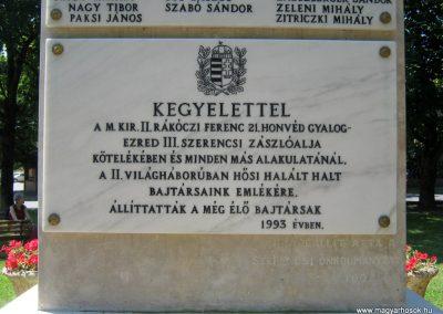 Szerencs felújított világháborús emlékmű 2017.07.18. küldő-Emese (8)