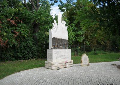 Szerencs kényszermunkára hurcoltak emlékműve 2017.07.18. küldő-Emese