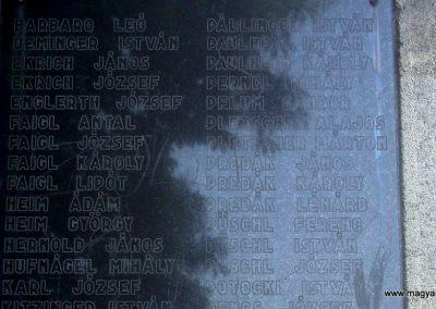 Szigetújfalu I.vh emlékmű 2009.05.18. küldő-Huszár Peti (7)