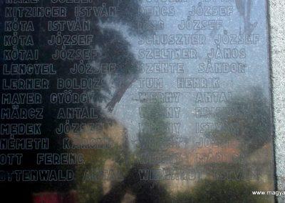 Szigetújfalu I.vh emlékmű 2009.05.18. küldő-Huszár Peti (8)