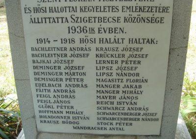 Szigetbecse I.vh emlékmű 2009.05.18.küldő-Huszár Peti (1)