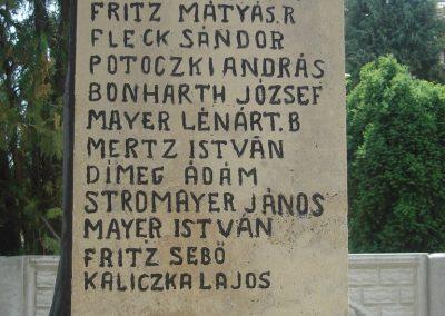 Szigetcsép világháborús emlékmű 2009.05.18.küldő-Huszár Peti (5)