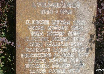 Szigetmonostor világháborús emlékmű 2008.07.05. küldő-Huszár Peti (1)