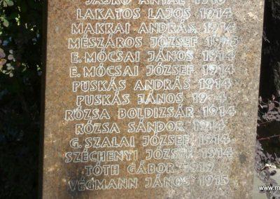 Szigetmonostor világháborús emlékmű 2008.07.05. küldő-Huszár Peti (2)