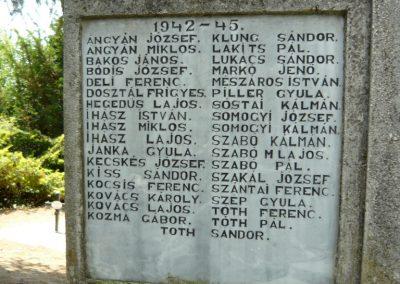 Szigliget világháborús emlékmű 2011.06.12. küldő-Ágca (1)