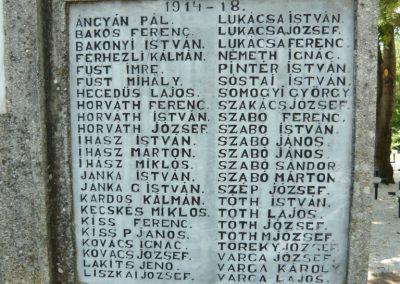Szigliget világháborús emlékmű 2011.06.12. küldő-Ágca (4)