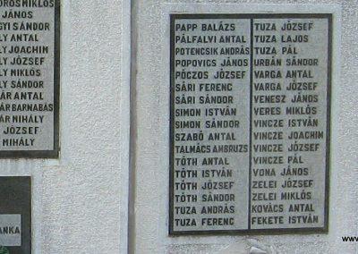 Szihalom világháborús emlékmű 2007.06.15. küldő-kalyhas (4)
