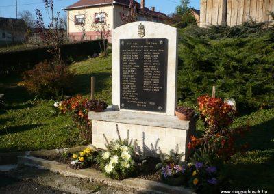 Szilvágy világháborús emlékmű 2009.11.17.küldő-Sümec (3)