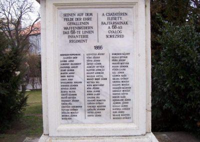 Szolnok A 68-as gyalogezred emlékműve 2009.04.02.küldő-miki (1)