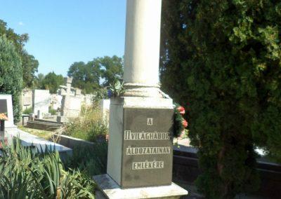 Szolnok r.kat. temető II. világháborús emlékmű 2016.07.30. küldő-belamiki