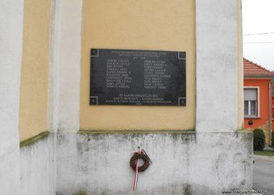 Szombathely- Olad I.vh után emléktábla 2009.12.02. küldő-Gyurkusz