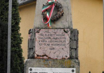 Szombathely- Olad világháborús emlékmű 2009.12.02. küldő-Gyurkusz (2)