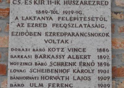 Szombathelyi huszárlaktanya I.vh emlékmű 2009.12.03. küldő-Gyurkusz (2)