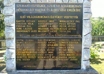 Szuhafő világháborús emlékmű 2012.06.27. küldő-Pataki Tamás (3)
