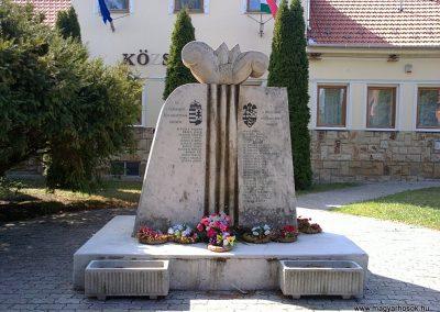Szuhakálló világháborús emlékmű 2012.04.07. küldő- Pataki Tamás