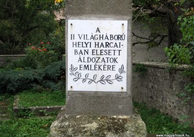 Szurdokpüspöki II.vh emlékmű 2007.10.12. küldő-Kályhás (2)