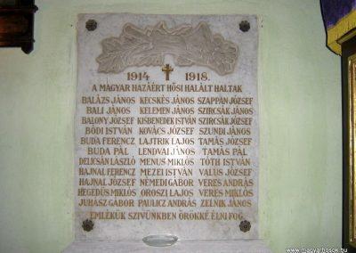 Szurdokpüspöki (Zagyvaszentjakab) I.vh emléktábla a teplomban 2008.02.11. küldő-Mónika39