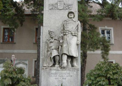 Tállya I.vh emlékmű 2009.03.28.küldő-Ágca