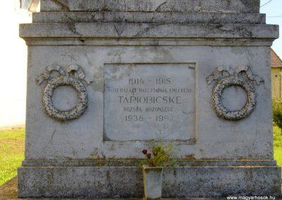 Tápióbicske I. világháborús emlékmű 2014.09.24. küldő-Sümegi Csaba (1)