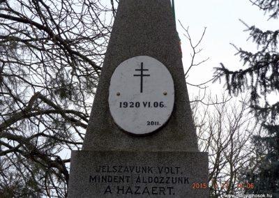 Tápióság I. világháborús emlékmű 2015.01.17. küldő-kalyhas (3)