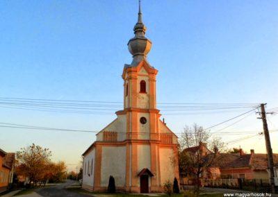 Tápszentmiklós, református templom