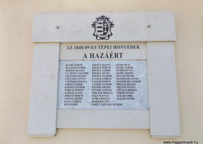 Tépe hősök emléktáblái 2018.05.28. küldő-Bóta Sándor (2)