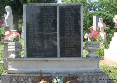 Tófalu világháborús emlékmű 2007.06.12. küldő-kalyhas (2)