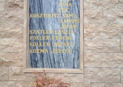 Tófej világháborús emlékmű 2012.05.07. küldő-Ágca (13)