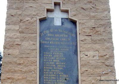 Tófej világháborús emlékmű 2012.05.07. küldő-Ágca (4)