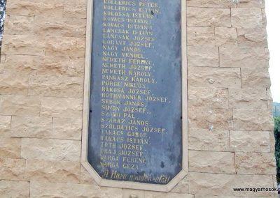 Tófej világháborús emlékmű 2012.05.07. küldő-Ágca (5)