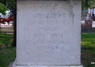 Tószeg I.vh emlékmű 2009.04.26. küldő-miki (2)