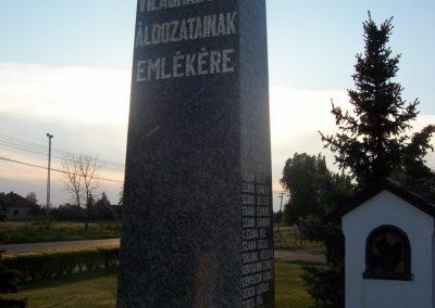 Tószeg II.vh emlékmű 2009.04.26. küldő-miki (1)