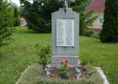 Tótszentmárton II.vh emlékmű 2009.05.23.küldő-Sümec