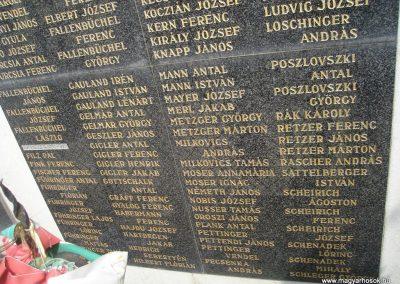 Törökbálint világháborús emlékmű 2008.04.15. küldő-Huszár Peti (8)