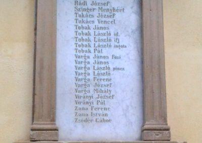 Törökkoppány I. világháborús emléktáblák 2014.08.24. küldő-Huber Csabáné (7)