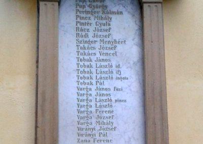 Törökkoppány I. világháborús emléktáblák 2014.08.24. küldő-Huber Csabáné (9)