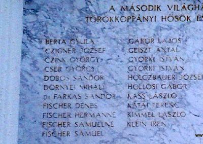 Törökkoppány II. világháborús emléktábla 2014.08.24. küldő-Huber Csabáné (2)