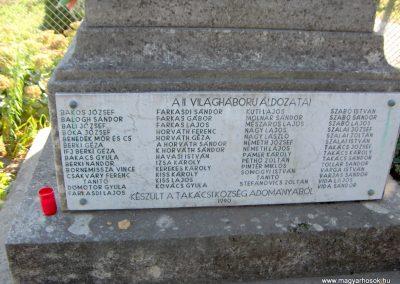 Takácsi világháborús emlékmű 2006.10.26. Küldő-Hege (4)