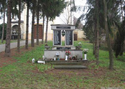 Tarnaméra II.vh emlékmű 2008.03.08. küldő-Kályhás