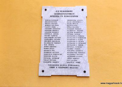 Tatárszentgyörgy világháborús emléktáblák 2015.11.27. küldő-kalyhas (6)