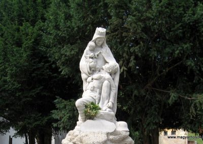 Tata-Agostyán I.vh emlékmű 2008.07.03. küldő-Kályhás (1)