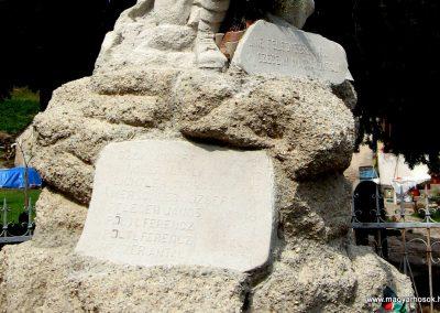 Tata-Agostyán I.vh emlékmű 2008.07.03. küldő-Kályhás (3)