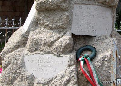 Tata-Agostyán I.vh emlékmű 2008.07.03. küldő-Kályhás (5)